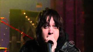 """The Strokes -  """"Taken For A Fool"""" Live On David Letterman HD Quality 3/23/11"""