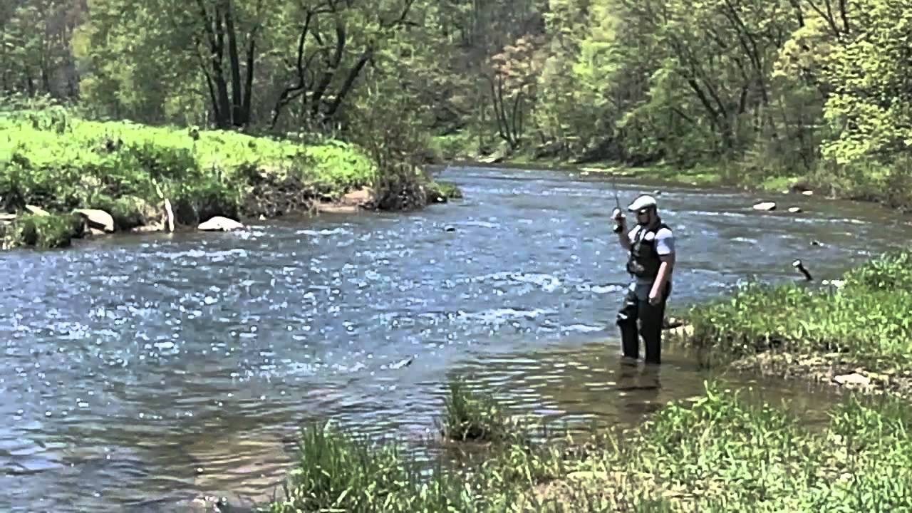 Fly fishing in maryland youtube for Fishing in md