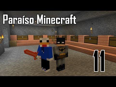 Paraíso Minecraft - Nueva sala de cofres- Ep.11