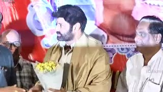 Balakrishna at Bapu Film Festival 2014 Video
