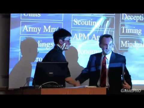 Первая лекция о StarCraft в UC Berkeley