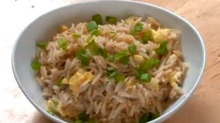 Sesame And Egg Fried Rice ..