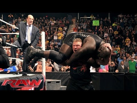 Brock Lesnar returns to WWE with the WWE World Heavyweight Title in his sights: Raw, Dec. 30, 2013
