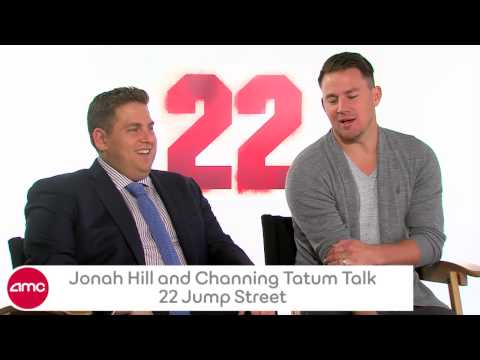 Jonah Hill & Channing Tatum Talk 22 JUMP STREET With AMC
