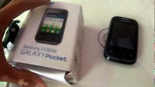 Review Galaxy Pocket S5300 [PT-BRASIL]