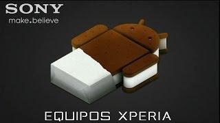 Como Actualizar Android 2.3 A 4.0 [Equipos Sony Xperia