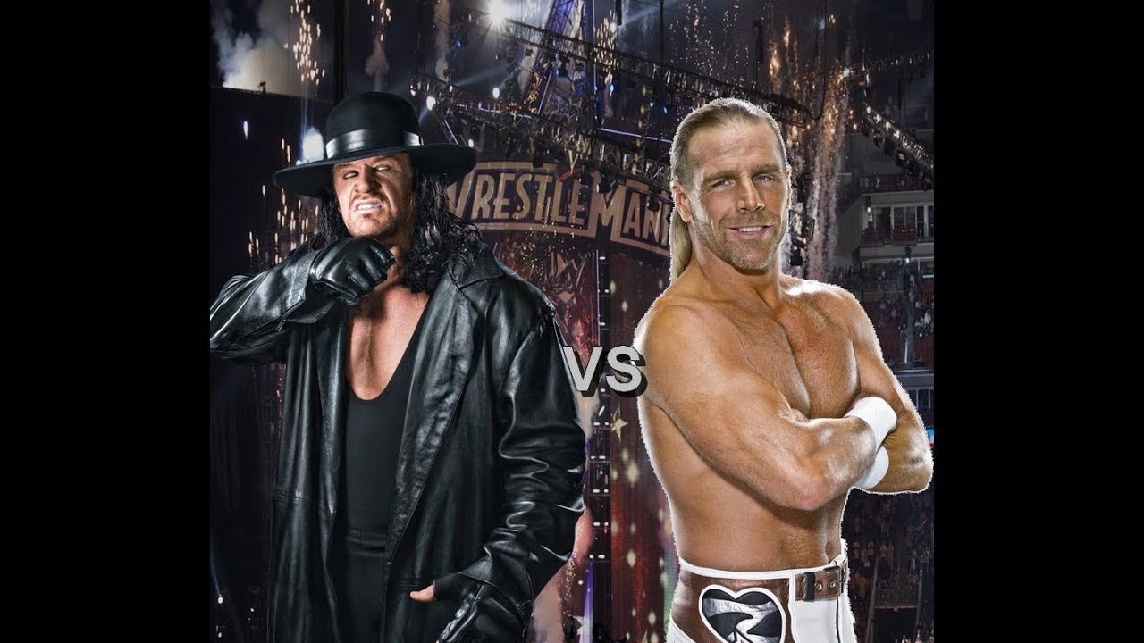 Shawn michaels vs undertaker
