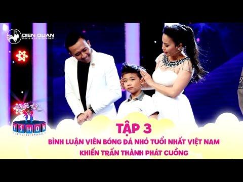 Biệt tài tí hon | tập 3: Xuất hiện bình luận viên bóng đá nhỏ tuổi nhất Việt Nam