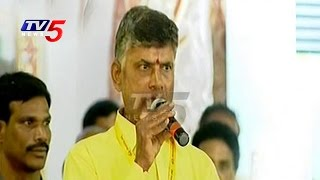 YS Jagan is a Criminal Says Chandrababu @ Mahanadu