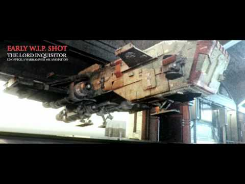 The Lord Inquisitor - Thunderhawk Gunship - Landing gear Wip - [HD]