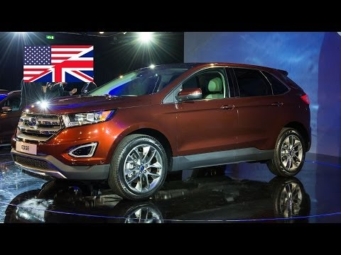 2014 Ford Edge World premiere / EU presentation in Cologne