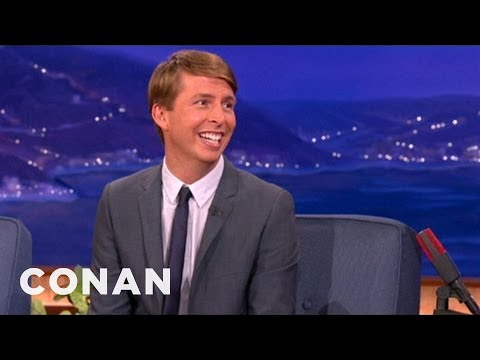 Jack McBrayer's Back Yard Is Infested With Crows - CONAN on TBS