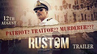 rustom film trailer, rustom trailer, bollywood, bollywood movies, bollywood movie trailers, Akshay Kumar, Ileana D'Cruz, Esha Gupta