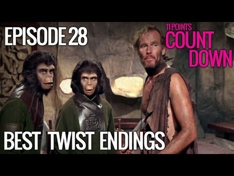 11 Best Movie Twist Endings (w/ National Film Society) - 11 Points Countdown