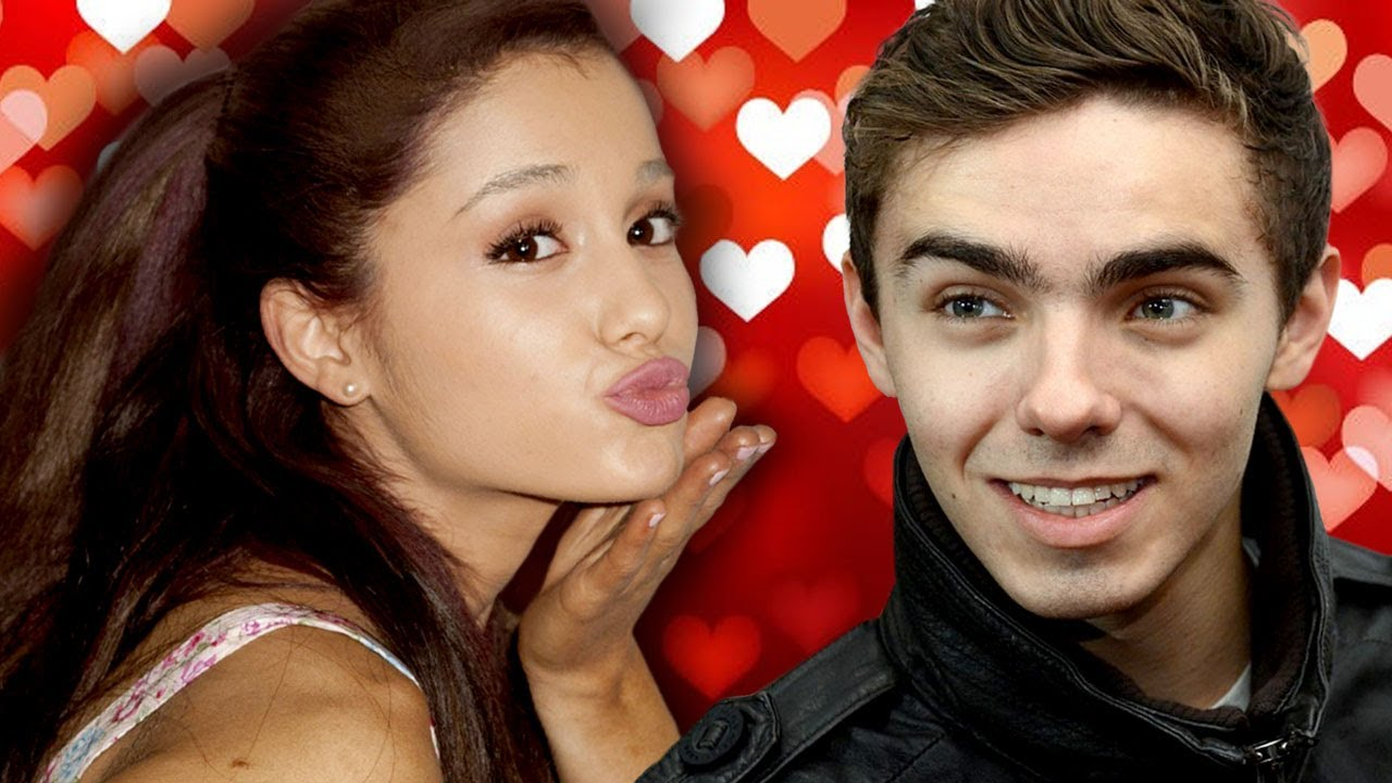 Nathan the wanted and ariana grande - photo#19
