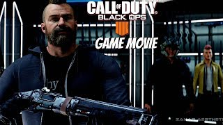 Call of Duty Black Ops 4 - All Story Mode Cinematic Cutscenes & Ending (Call of Duty 2018 Movie)
