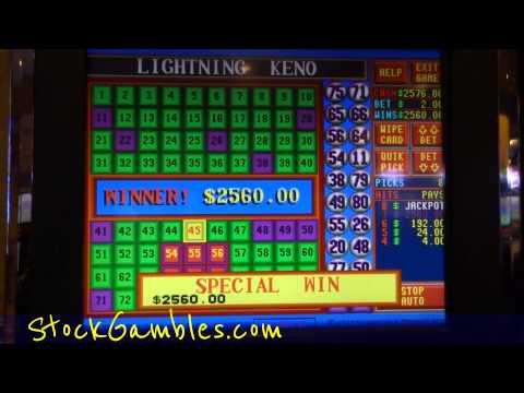 keno slots machines