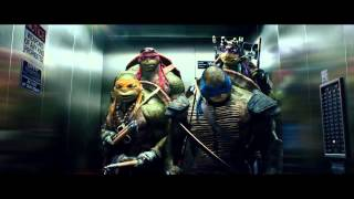 Teenage Mutant Ninja Turtles Elevator Scene Extended 2014
