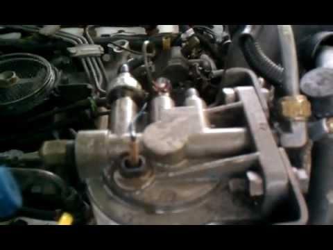 Ford F250 7 3 Idi Fuel Filter Housing Leak Youtube