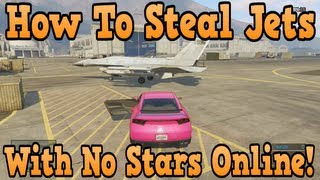 """GTA 5 Online"" How To Get Into Military Base With No Stars"