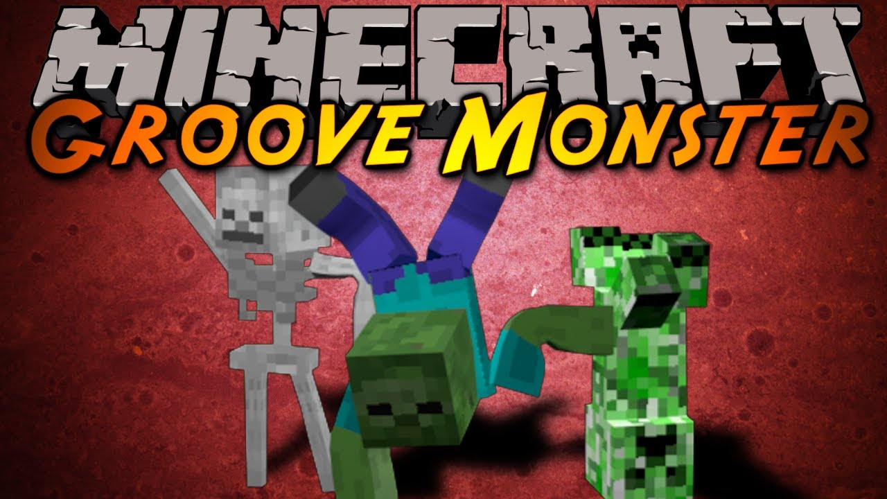 Minecraft mod showcase groove monster youtube