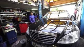 Замена масла в коробке W221 Mercedes Benz S320 Денис Рем Дестакар