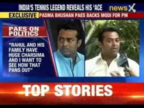 Leander paes back Narendra Modi for PM