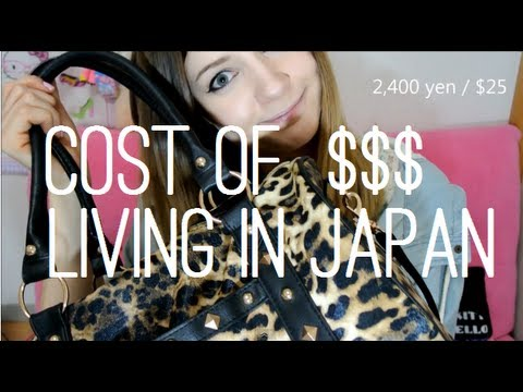$$$ Cost of Living in JAPAN $$$