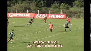 Am�rica se prepara para receber a Caldense pelo Campeonato Mineiro