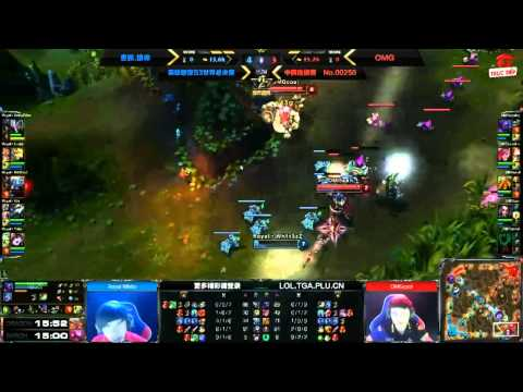 [Season 3 China Regional Finals] [CK Tổng] [Game 3] OMG vs Royal HZ [08.09.2013]