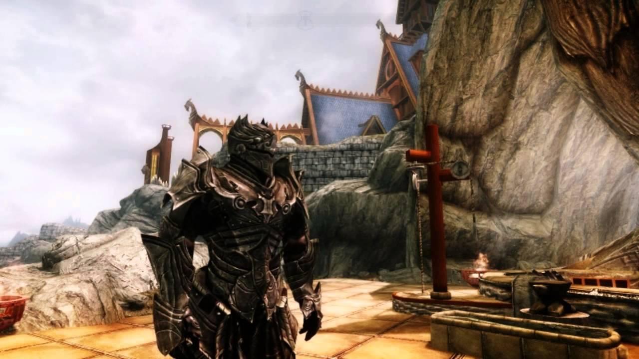 Skyrim Black Knight Armor Set - - 98.3KB