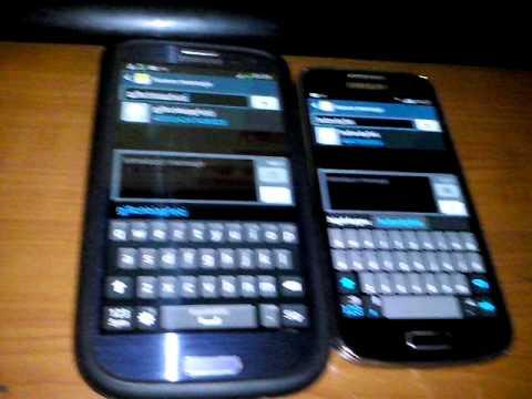 samsung galaxy s3 GT-I9300 VS galaxy s4 mini GT-I9190 español