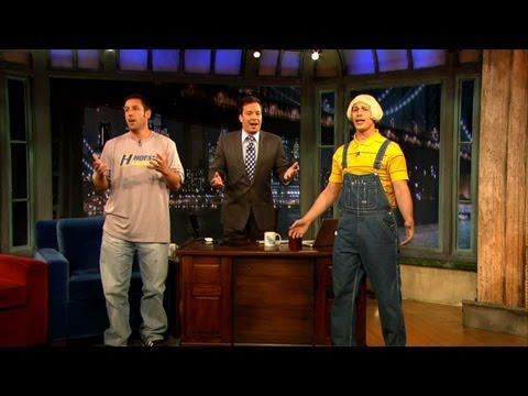Adam Sandler's Father's Day Song with Jimmy Fallon and Andy Samberg