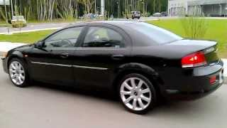 Video Chrysler Sebring (Sedan), 2003, 2.0i, 16V (141 Hp), MT, Black, R-18.