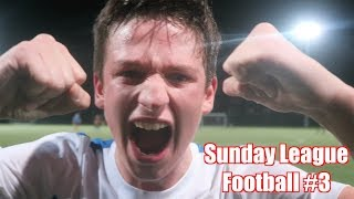 SCORING MY FIRST GOAL FOR THE CLUB! - Sunday League Football #3