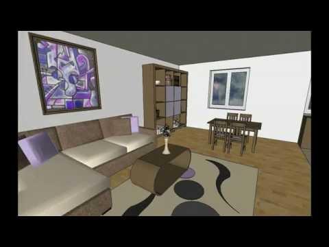 MODEL B-8 by AQ, Projekat, Prizemna dvosobna porodična kuća