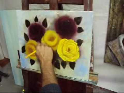 Pintando rosas com Marcio Monteiro (aula 4