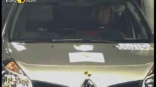 Renault Clio çarpışma testi - Euro NCAP 2005