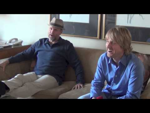 Free Birds interview with Owen Wilson and Woody Harrelson