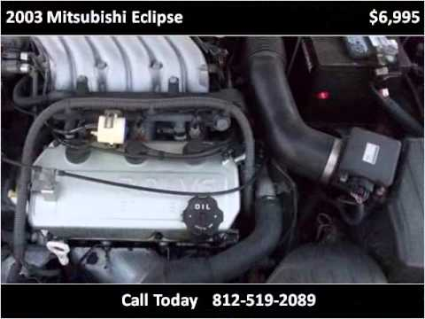 2003 Mitsubishi Eclipse Used Cars Seymour, Columbus IN
