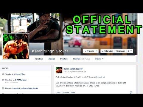 Qubool Hai - Karan Singh Grover aka Asad to soon release an OFFICIAL ...