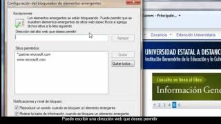 ¿Cómo Configurar Las Ventanas Emergentes En Internet