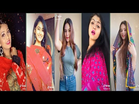 Chunari Chunari Girls dress up Tik Tok video |Avneet, jannat, arshifa |New Funny Tik Tok videos 2020