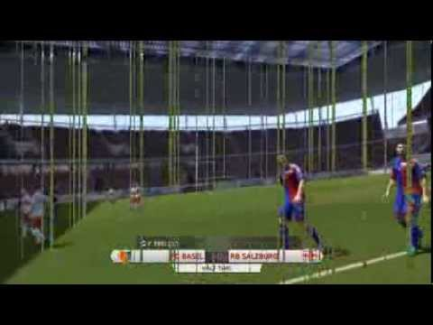 FC Basel - Red Bull Salzburg 1-1 highlights 2014