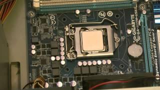 Como ensamblar un PC compatible Core i5. Parte 6