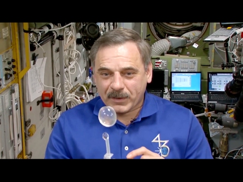 How to Drink Water in Space