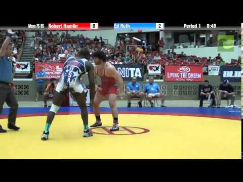 86 KG - Robert Hamlin vs. Ed Ruth