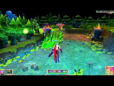 Chơi LMHT theo phong cách game 3D :D