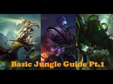 Basic Jungle Guide Pt.1 (League of Legends)