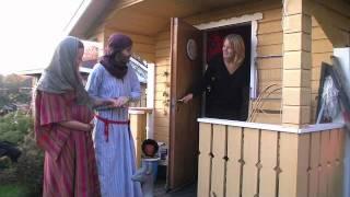 23. Knackar dörr; Youngsters julkalender Guds plan med Marias barn.